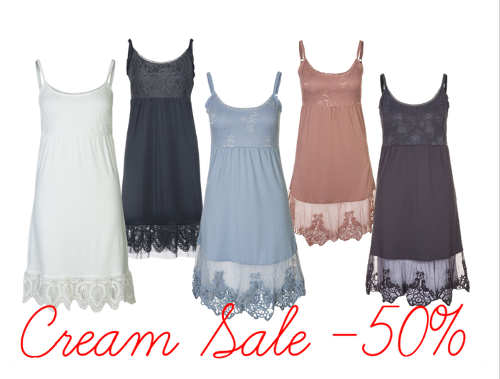 cream sale cream clothing